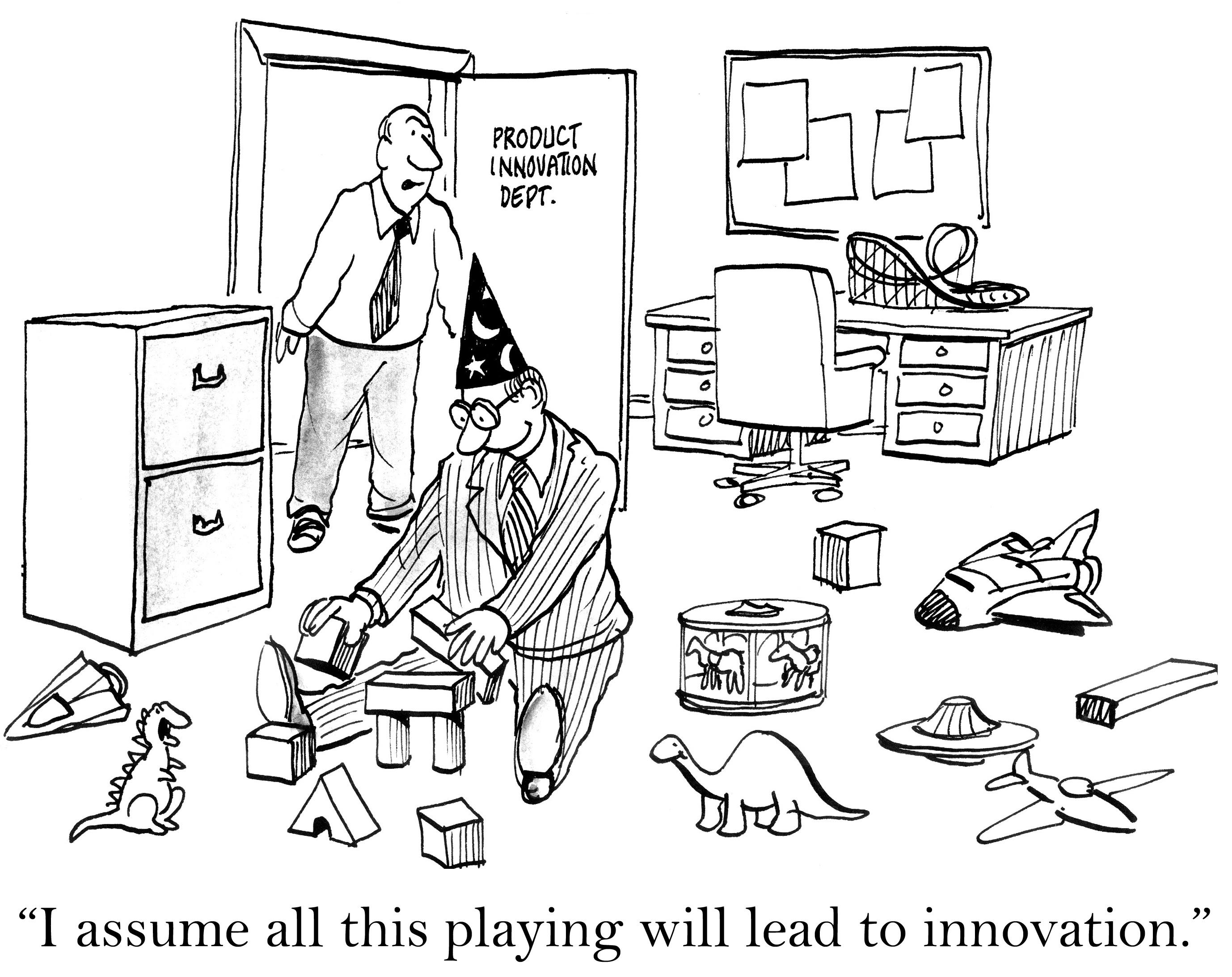 """* """"Je suppose que tout ce jeu aboutira à de l'innovation. """" Avec l'Atelier Coaching & Créativité, vous êtes bien accompagné(e)"""